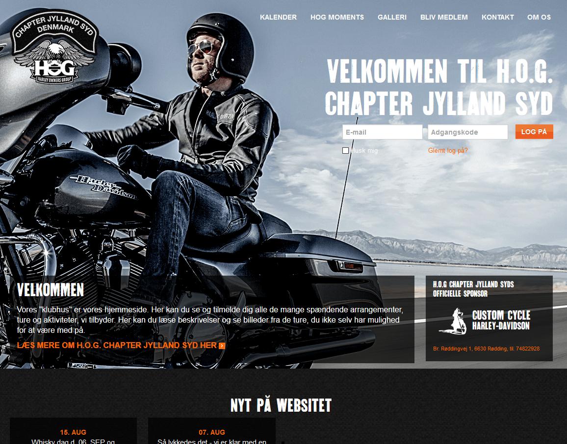HOG Chapter Jylland syd og Copenhagen